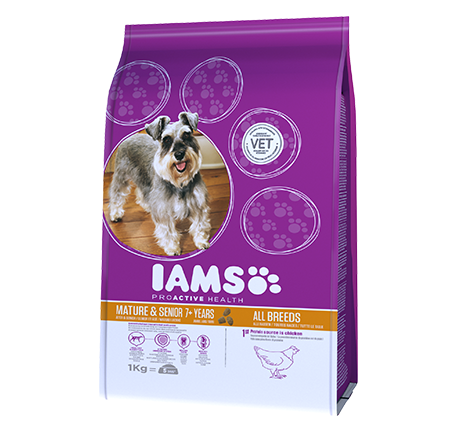 Iams® PROACTIVE HEALTH Mature & Senior riche en poulet